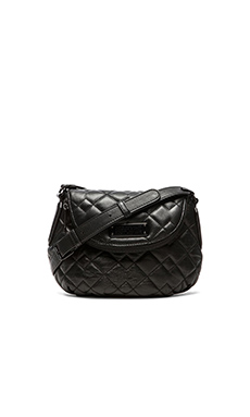 Marc by Marc Jacobs New Q Quilted Mini Natasha Bag in Black