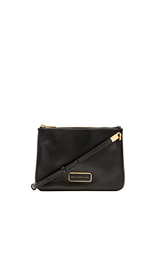 Marc by Marc Jacobs Ligero Double Percy Bag in Black