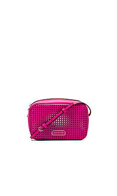 Marc by Marc Jacobs Sally Perf Leather Bag in Fuchsia Purple