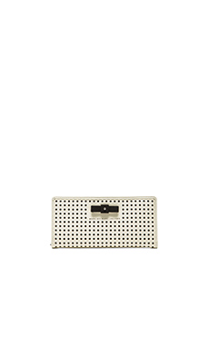 Marc by Marc Jacobs Sophisticato Bow Tomoko Wallet in Leche