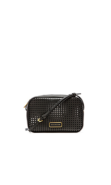 Marc by Marc Jacobs Sally Perf Leather Bag in Black