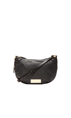 Marc by Marc Jacobs Washed Up X Body Bag in Black
