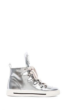 Marc by Marc Jacobs Cute Kicks Reflective Sneaker in Silver