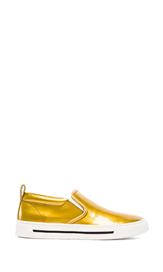 Marc by Marc Jacobs Cute Kicks Slip On Sneaker in Gold