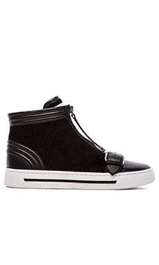 Marc by Marc Jacobs BMX Hi Top Sneakers in Black