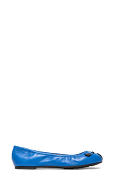 Marc by Marc Jacobs Mouse Ballerina Flats in Blue