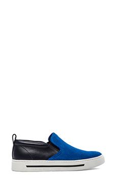 Marc by Marc Jacobs Cute Kicks Slip On Sneakers in Blue & Navy