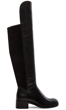 Marc by Marc Jacobs Boot Up 40mm OTK Boots in Black