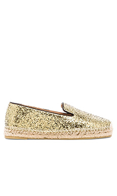 Marc by Marc Jacobs Espadrille in Black/Gold