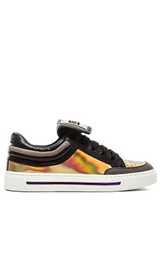 Marc by Marc Jacobs Sneaker in Gold Multi
