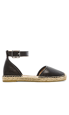 Marc by Marc Jacobs Perf Nappa Espadrille in Black