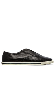 Marc by Marc Jacobs Perf Nappa Slip On Sneaker in Black