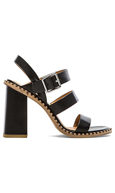 Marc by Marc Jacobs Vacchetta Sandal in Black