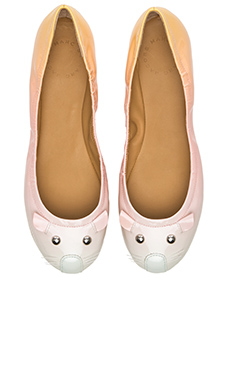 Marc by Marc Jacobs Soft Mouse Flat in Sunset Multi
