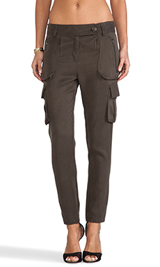 Mason by Mason by Michelle Mason Cargo Pant in Olive