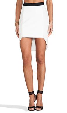 Mason by Mason by Michelle Mason Geometric Skirt in Ivory