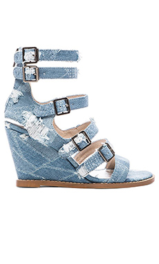 Matisse Honor Sandal in Denim