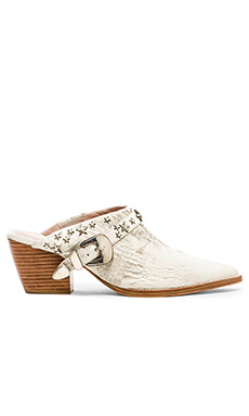 Matisse x Kate Bosworth Judith Star Studded Mule in Vintage White