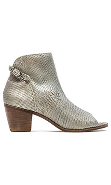 Matisse Folk Open Toe Bootie in Pewter
