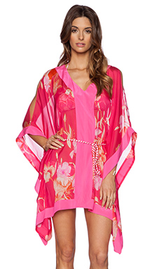Matthew Williamson Tropical Caftan in Hot Pink