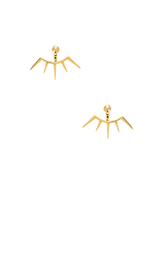 Melanie Auld Spike Ear Cuff & Studs in Gold