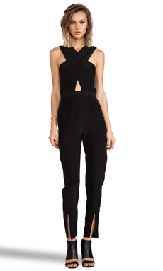 Maurie & Eve Glow Jumpsuit in Coal