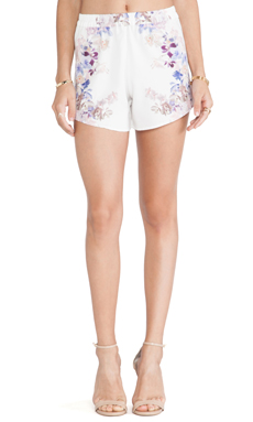 May. Tulip Shorts in Mirrored Print
