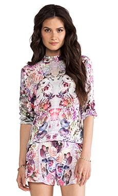 May. Society Shirt in Croc Floral