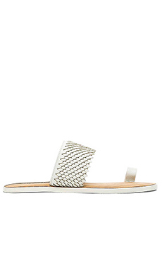 Matt Bernson Crane Sandal in White