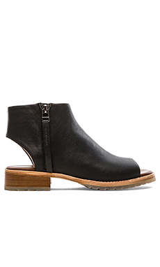 Matt Bernson Nomad Zippered Side Bootie in Black