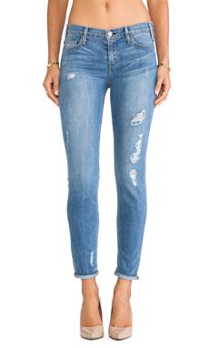 MCGUIRE Pirelli Ankle Roll Jean in Empire Shredded Leg