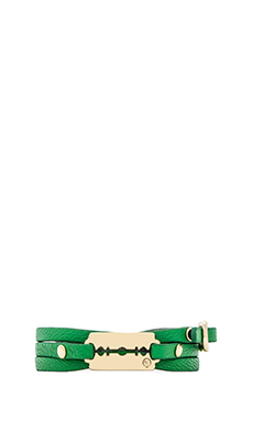 McQ Alexander McQueen Mini Razor Bracelet in Kermit