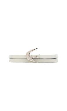 McQ Alexander McQueen Swallow Mini Bracelet in Chrysanthemum