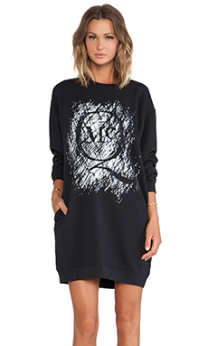 McQ Alexander McQueen Classic Sweatshirt in Black
