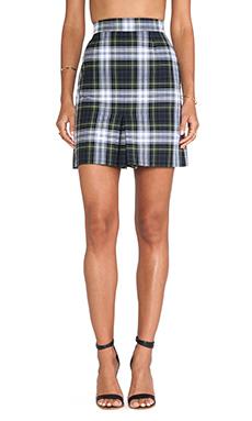 McQ Alexander McQueen Mini Pleat Skirt in Rupert