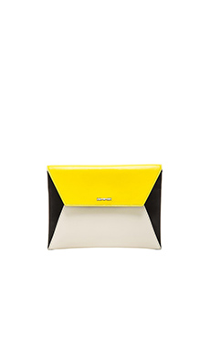 McQ Alexander McQueen Willow Envelope Cross Body in Ivory & Sun