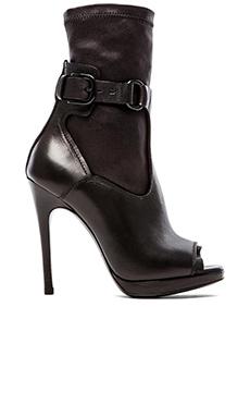 McQ Alexander McQueen Lara Sock Sandal in Black