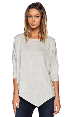 MERRITT CHARLES Birkin Sweater in Light Grey