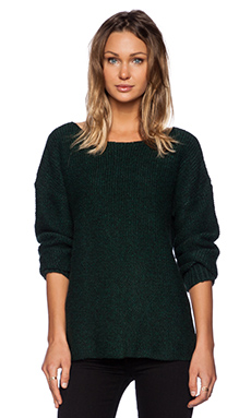 MERRITT CHARLES Bronson Sweater in Green