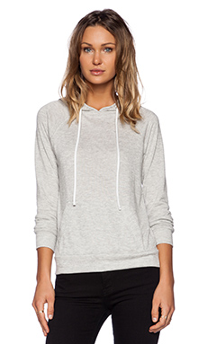 MERRITT CHARLES Honey Hoodie in Heather grey