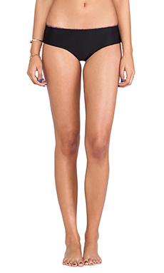 Mary Grace Swim Farrah Reversible Bikini Bottom in Casey Jones & Black Betty