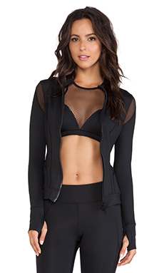 MICHI by Michelle Watson Illusion Jacket in Black