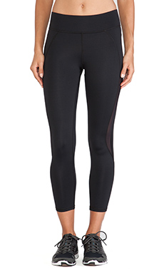 MICHI by Michelle Watson Medusa Crop Legging in Black