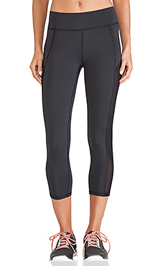 MICHI by Michelle Watson Stardust Crop Legging in Black