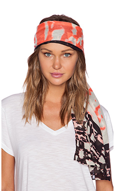 Michael Stars Urban Canvas Scarf in Coral Blush