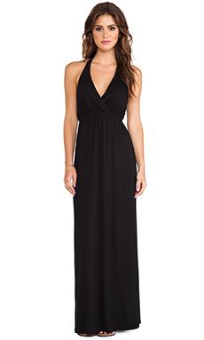 Michael Stars Alice Maxi Dress in Black