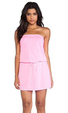 Michael Stars X REVOLVE Strapless Dress in Blinding Pink