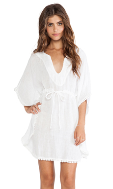Michael Stars Babette Dress in White
