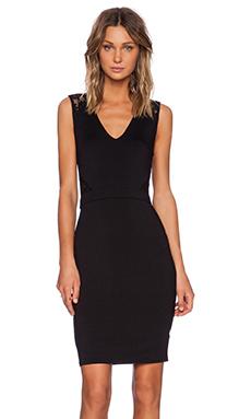 Michael Stars Freeda Lace Dress in Black