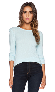 Michael Stars 3/4 Sleeve Top in Clear Water